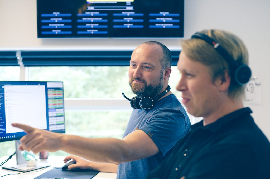 I webshopsupporten kan du være så heldig at snakke eller skrive med Rasmus eller Ronnie.