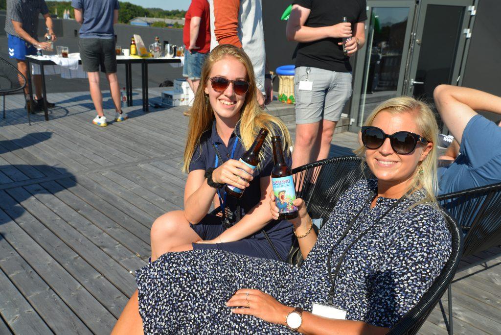"""I team.blue har vi i flere år sponsoreret Sølund Musik-festival. I år var vi bl.a. sponsor af """"En tovli' øl"""" - den officielle Sølund-øl."""