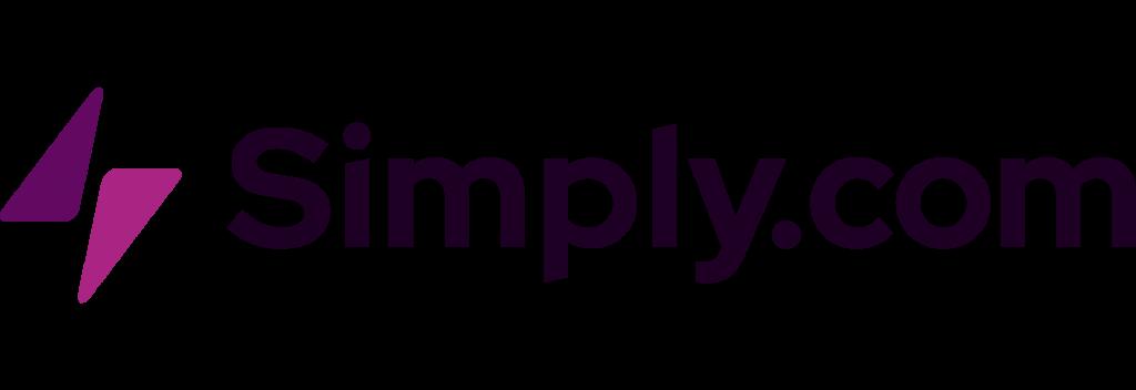 Simply.com - et simpelt logo til et simpelt hostingbrand.
