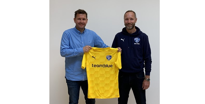 I 2020 udvidede vi vores sponsorat af FC Skanderborg.